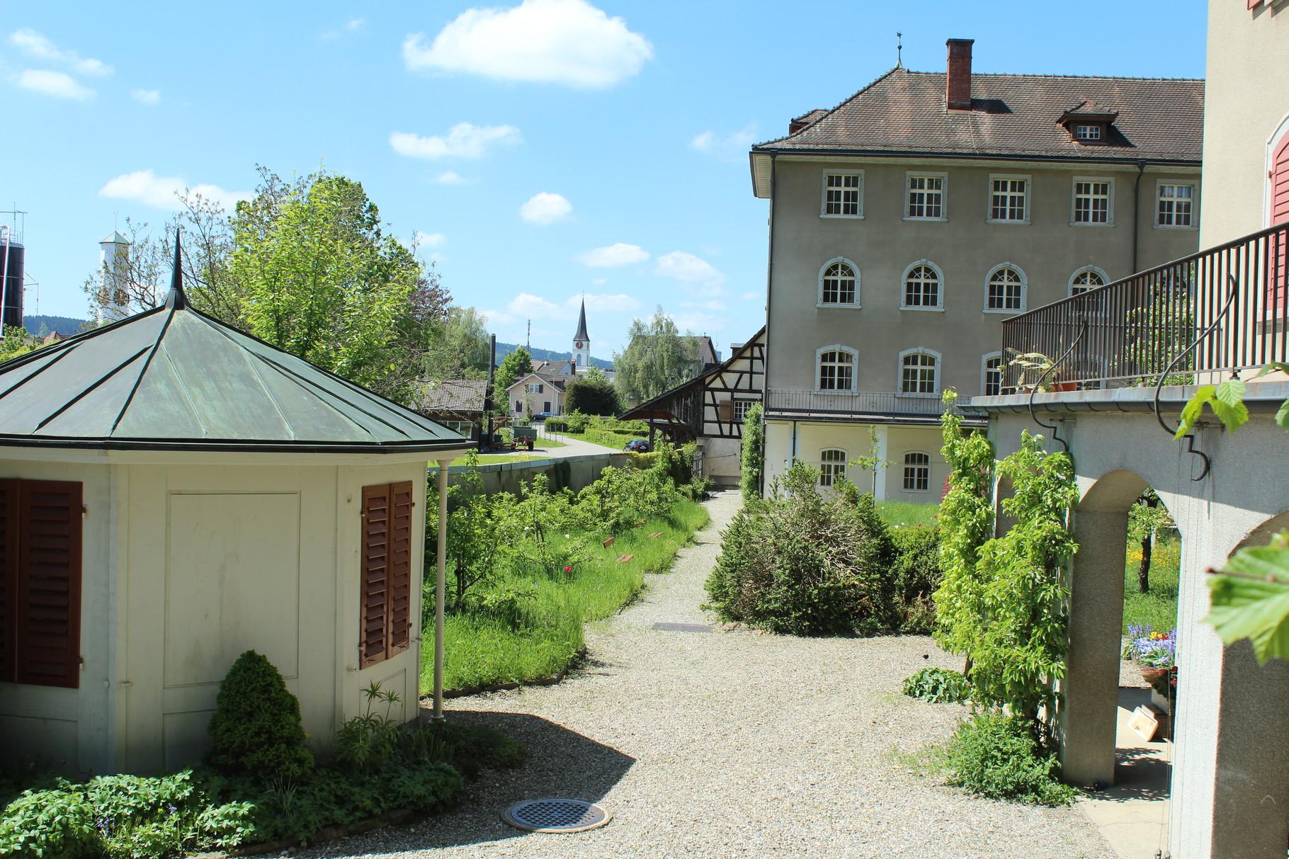 Blick zum Klosteratelier