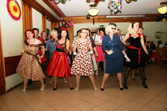 Rock around the Fifties beim Turnergschnas