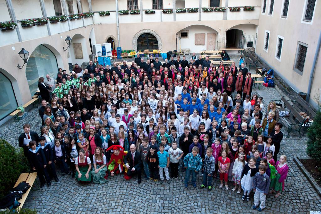 800 Jahr Feier mit Ennshymmne - 230 Mitwirkende!