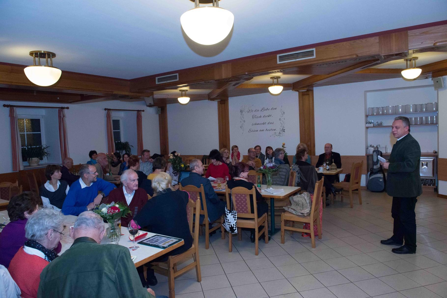 Generalversammlung im Gasthof Stöckler...