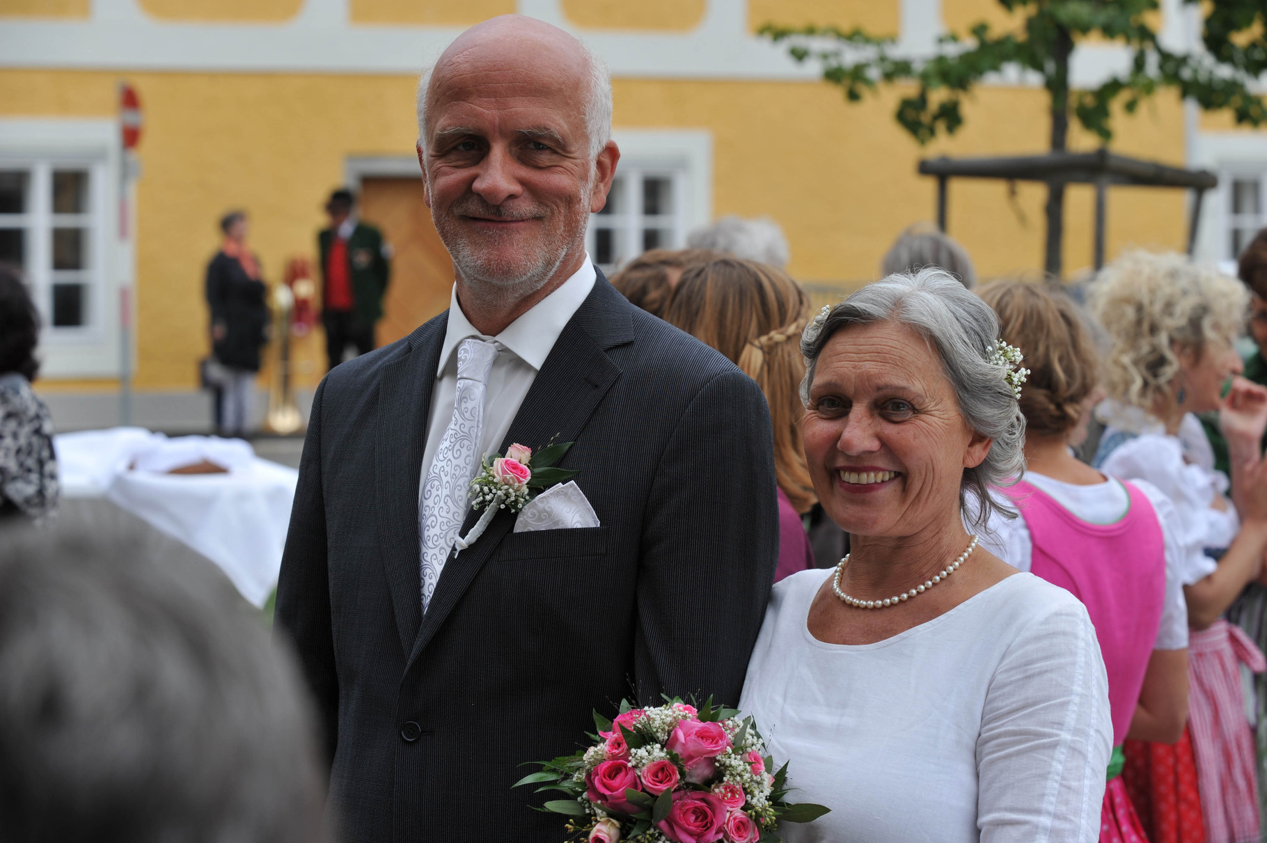 """Die """"Chorhochzeit"""": Ulli und Rudi!"""