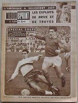 29 Janvier 1962 : Michel Perchey et le Nimes Olympique sont à la UNE de Miroir-Sprint