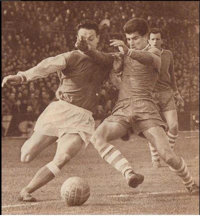7 Février 1954 : Nîmes Olympique - R.C Lens 3-1 (1er match de Jean Bandera avec le Nîmes Olympique)