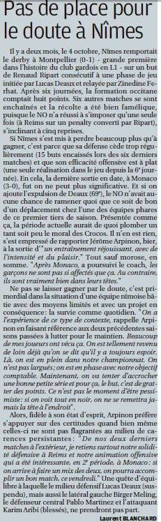 """LA PROVENCE"" DU 03/12/2020"