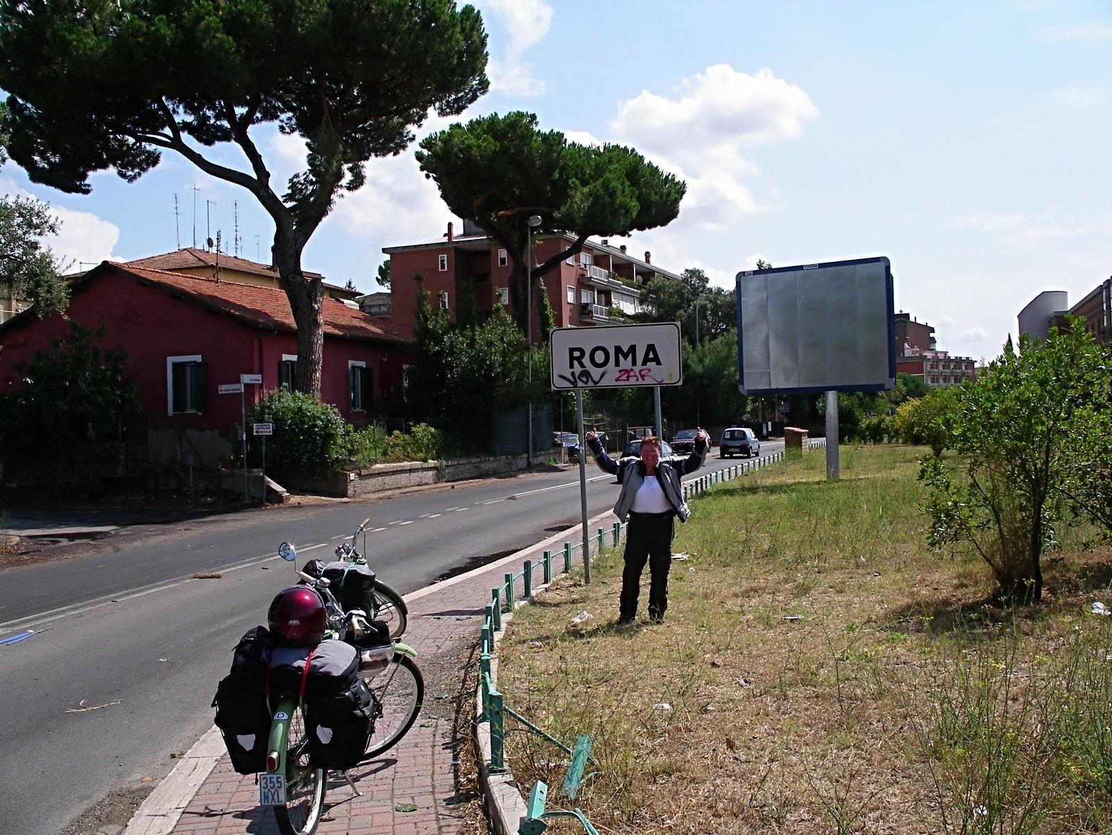 endlich Rom ..