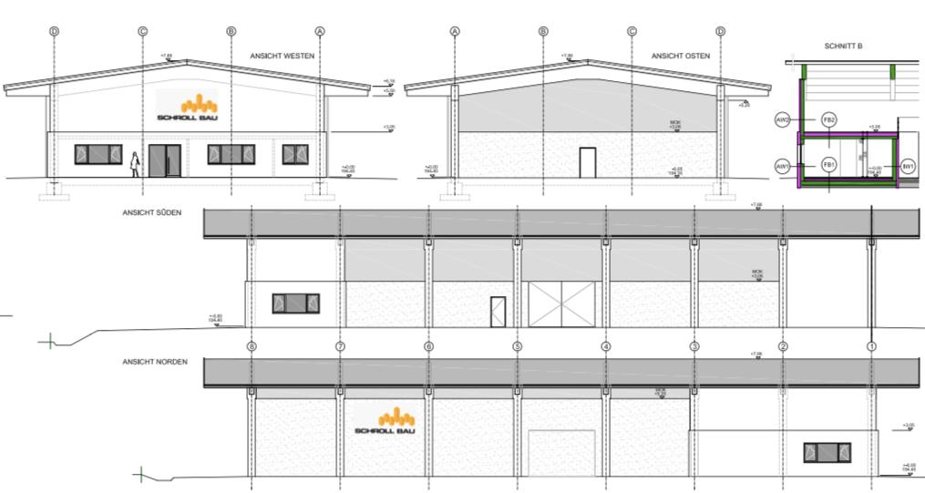 Unsere neue Lager und Konstruktionshalle samt Büroräumlichkeiten
