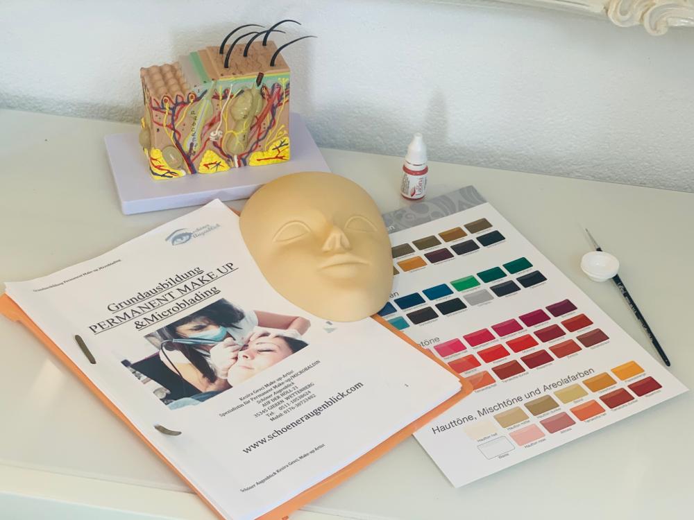 Intensiv Ausbildung 5 Tage Permanent Make up Praxis/Theorie