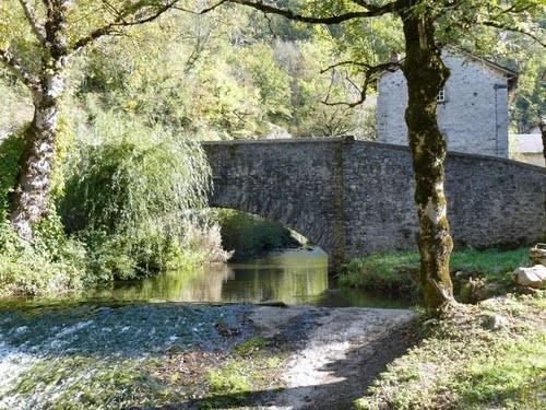 Pont sur le Gijou