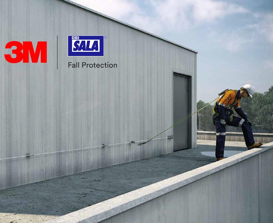3M Horizontale Drahtseilsicherungssysteme