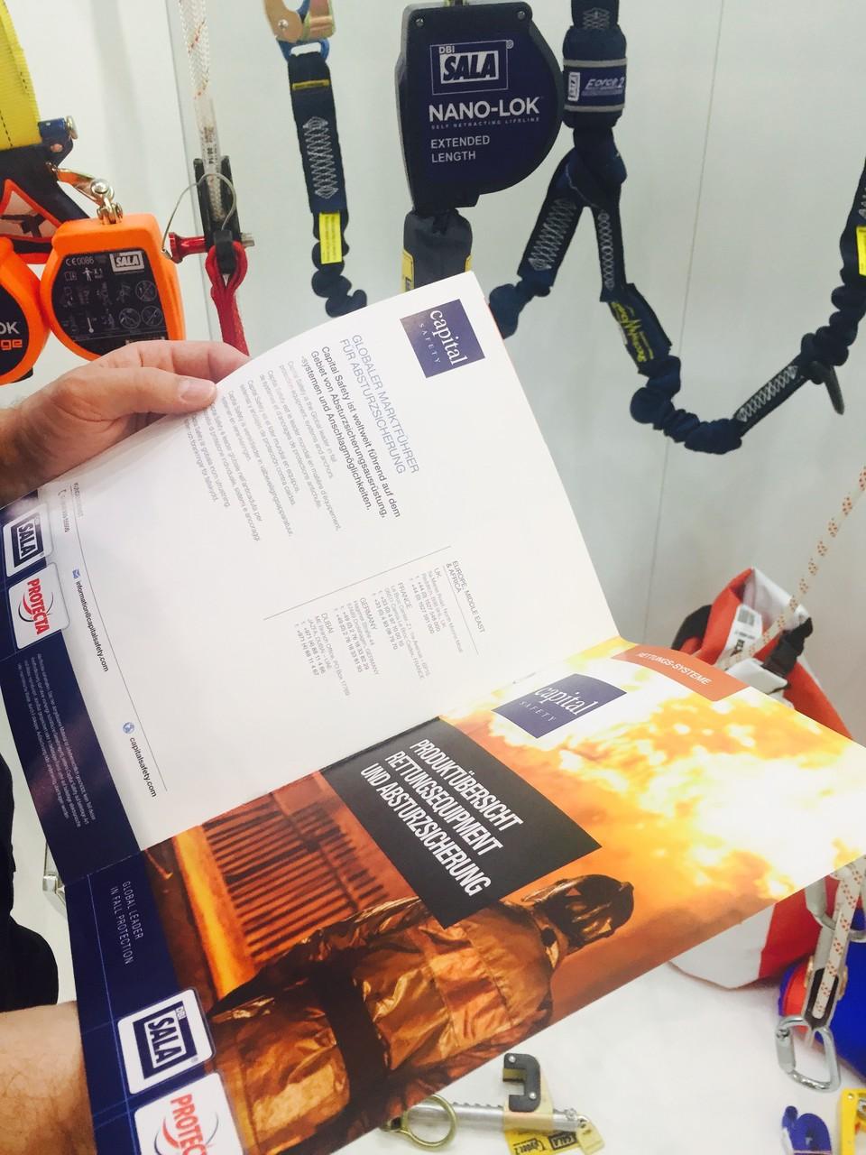 Beratung und Lieferung durch Renneberg Produkte als Handelspartner von Capital Safety