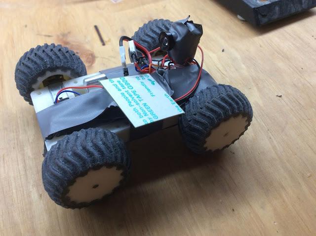 Rover mit Frontkamera