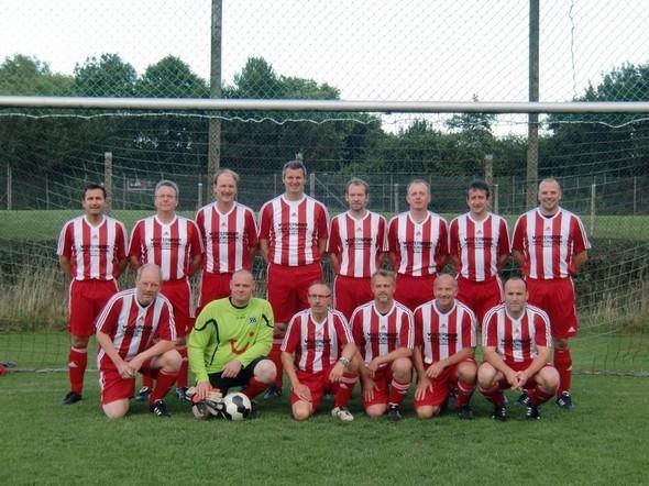 o.l: Thomas Dierksen, Dirk Kruse, Andreas Schulz, Arne Dieckmann, Jan Böttger, Marek Fender, Hinrich Fabian, Dirk Hansen.