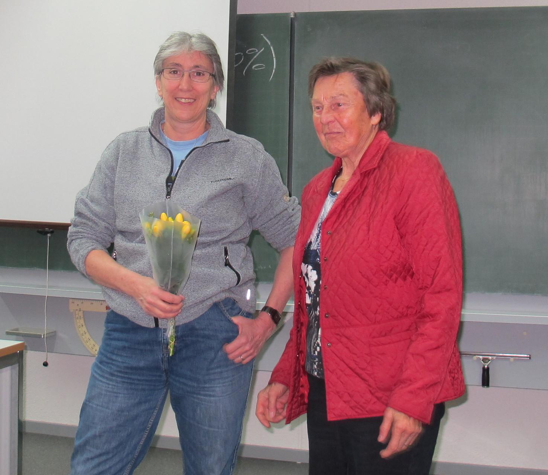 Doris Reck und Margrit Schmid