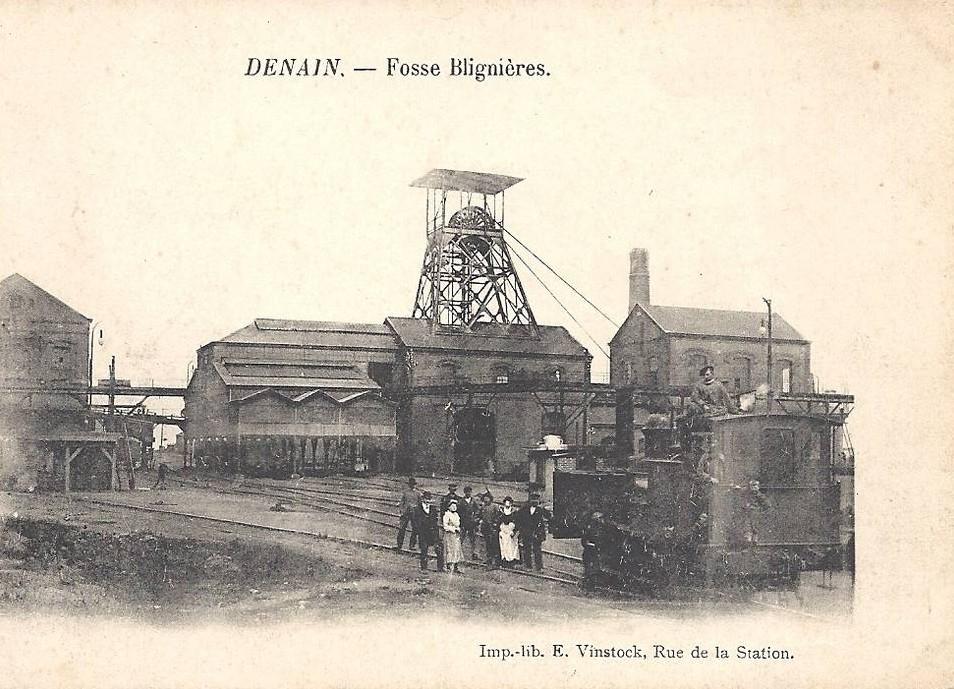 Wavrechain-Sous-Denain fosse Blignière