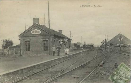 Gare des mines d' Anzin à Abscon