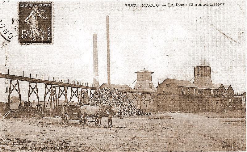 Condé-Sur-Escaut fosse Chabaud Latour