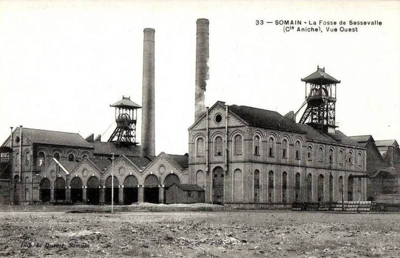Le douaisis le lensois et le bethunois au temps de la for Piscine montceau les mines