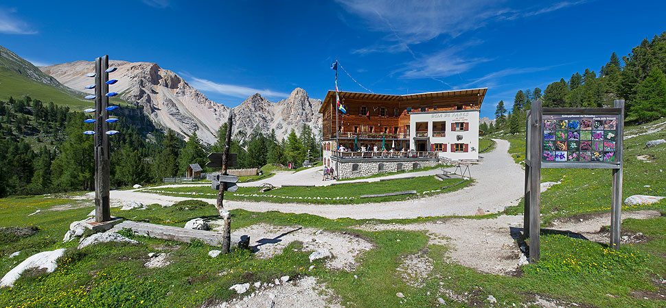 Fanes Hütte - St. Vigil - Dolomiten - Gourmet Südtirol ...