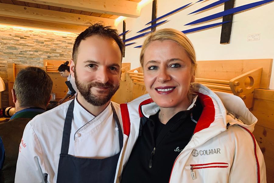 Ütia de Bioch: Chef Nicola Laera* - Restaurant La Stüa de Michil - Corvara, Monika Pfitscher