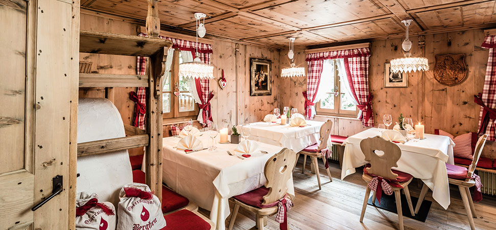 Oberraindlhof RestaurantHotel Ristorante Albergo Schnalstal Val Senales Südtirol Alto Adige Gourmet Südtirol