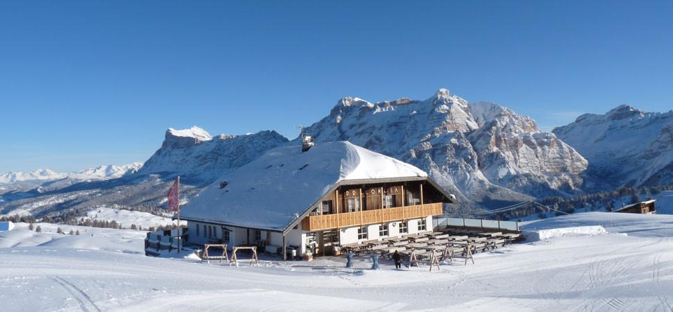 Pralongià Berggasthof - Skihütte - Corvara - Dolomiten ...