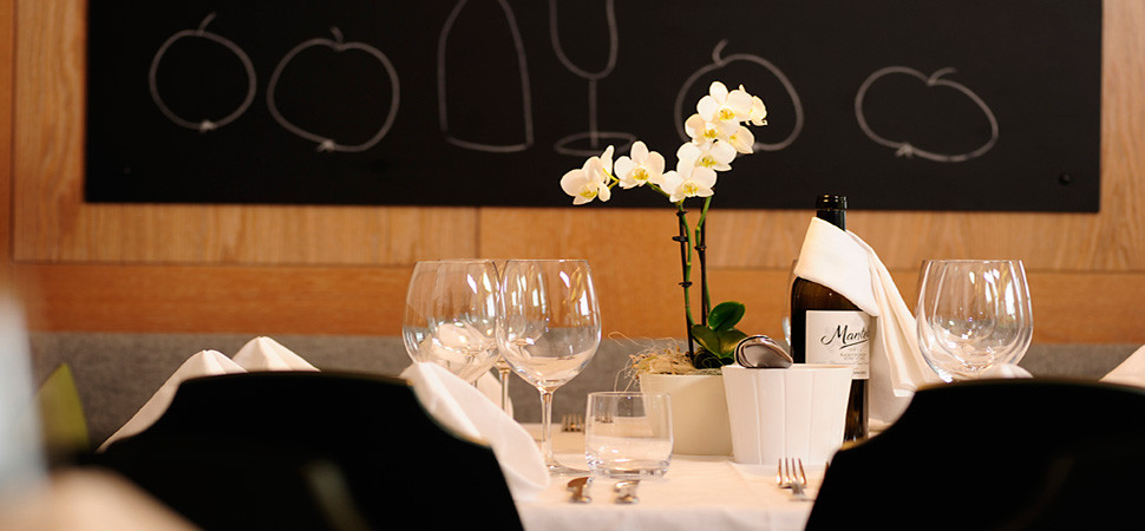 Restaurant Apollonia Ristorante Nals Nalles Sirmian Sirmiano Gourmet Südtirol