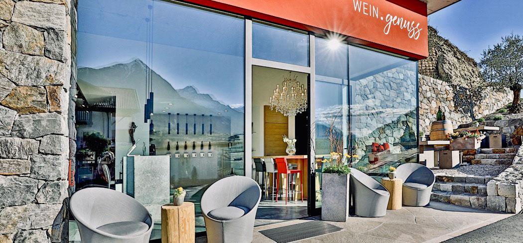 WEIN.genuss WineLounge & store Café Bar Schenna Scena Meran Merano Südtirol Alto Adige Gourmet Südtirol