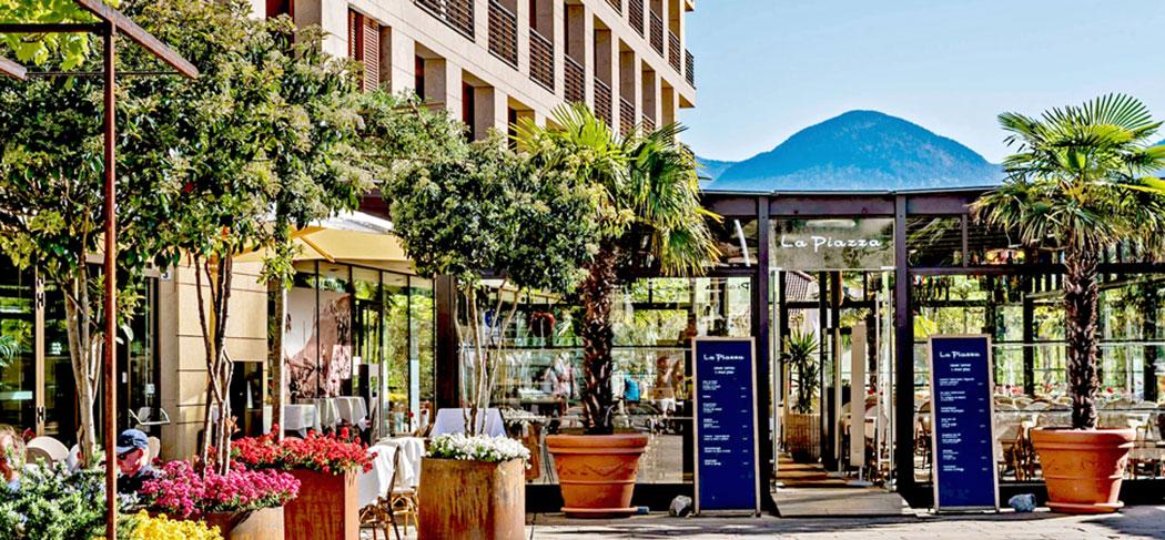 la piazza bistro caf restaurant meran gourmet s dtirol gourmet s dtirol hotel. Black Bedroom Furniture Sets. Home Design Ideas
