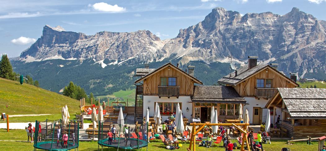 I Tablà Hütte Rifugio La Villa Alta Badia Gourmet Südtirol