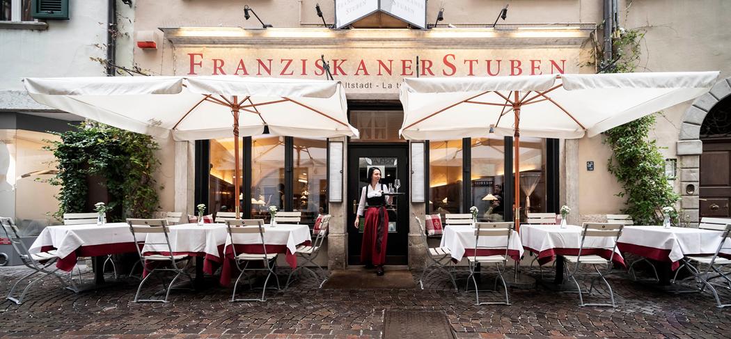 Wirtshaus FranziskanerStuben Restaurant Ristorante Bozen Bolzano Gourmet Südtirol