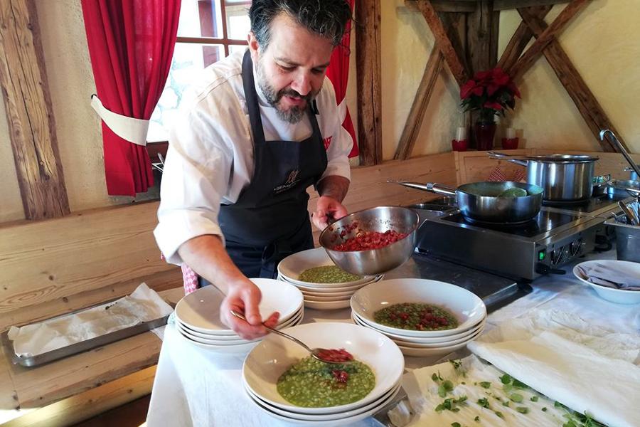 Las Vegas Lodge: Chef Claudio Melis*, vom Restaurant In Viaggio in Bozen