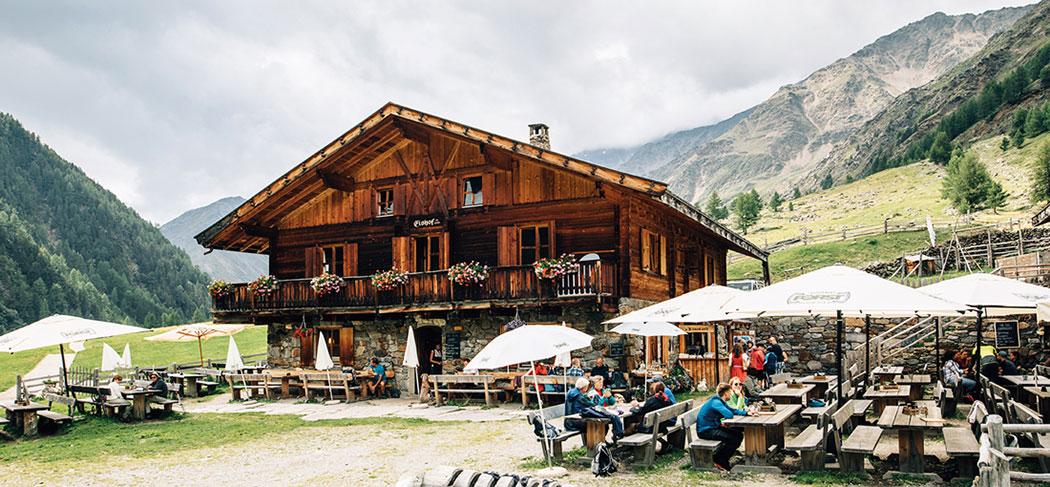 Eishof - Alm & Berggasthof - Malga & Locanda Alpina - Pfossental - Val di Fosse - Gourmet Südtirol
