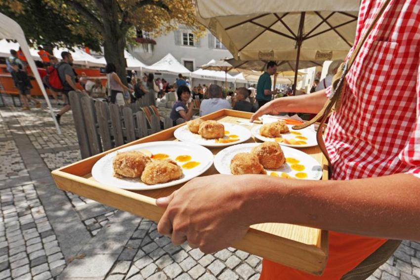 Marmor und Marillen in Laas - Marmo e albicocche a Lasa - Gourmet Südtirol