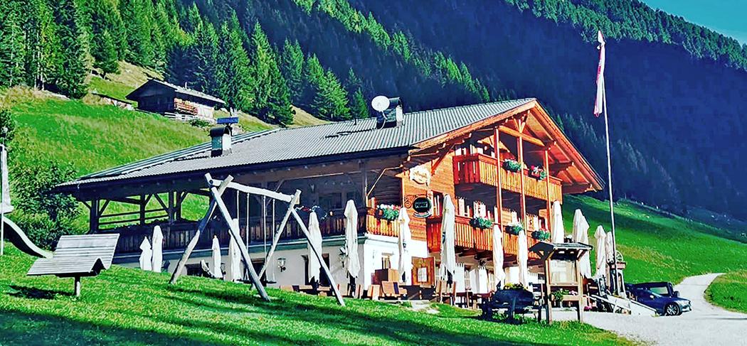 Großberghütte - Mühlbach - Rifugio Grossberghütte - Rio di Pusteria - Meransen - Maranza - Gourmet Südtirol