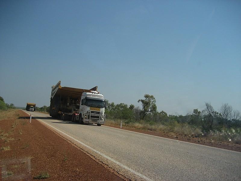 Roadtrain oversize