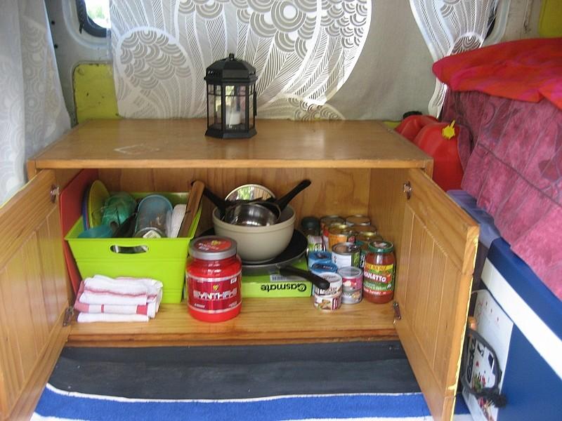 Küche in Gebrauch....