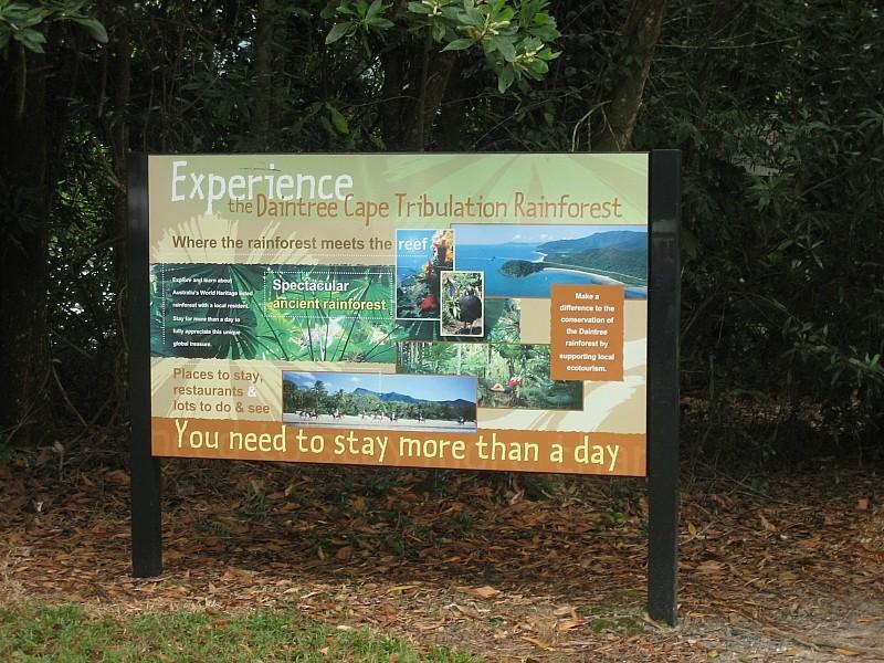 Fähre zur Cape Tribulation, ab in den Regenwald ;-)