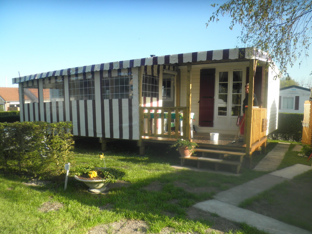 vente mobil home camping baie de somme