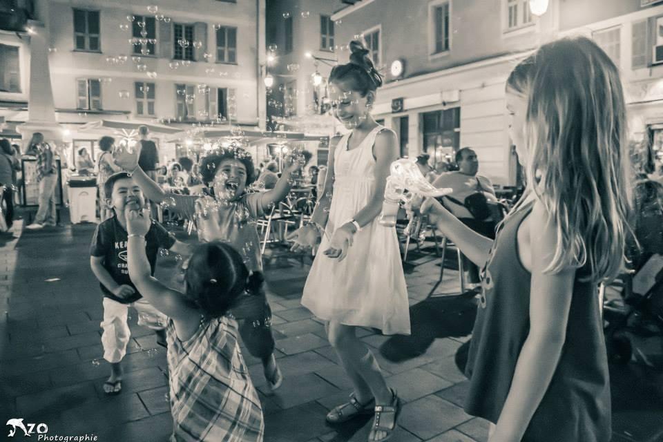 Juste la vie - place Rosseti à Nice