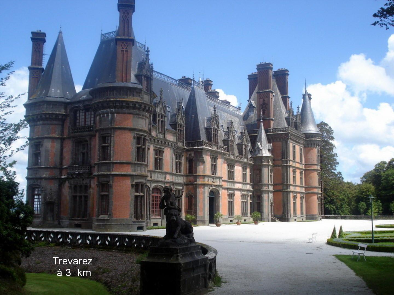 chateau de Trevarez et son jardin remarquable à 3 kms
