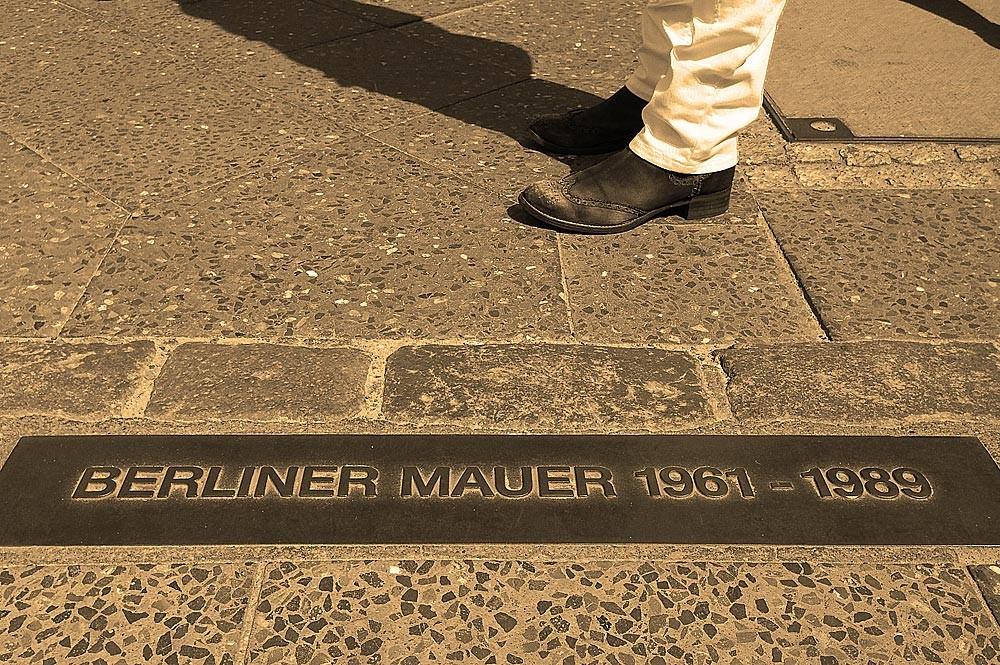 Всё, что осталось от берлинской стены