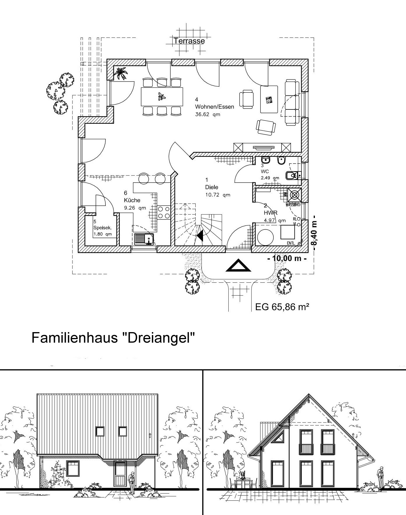Familienhaus DREIANGEL