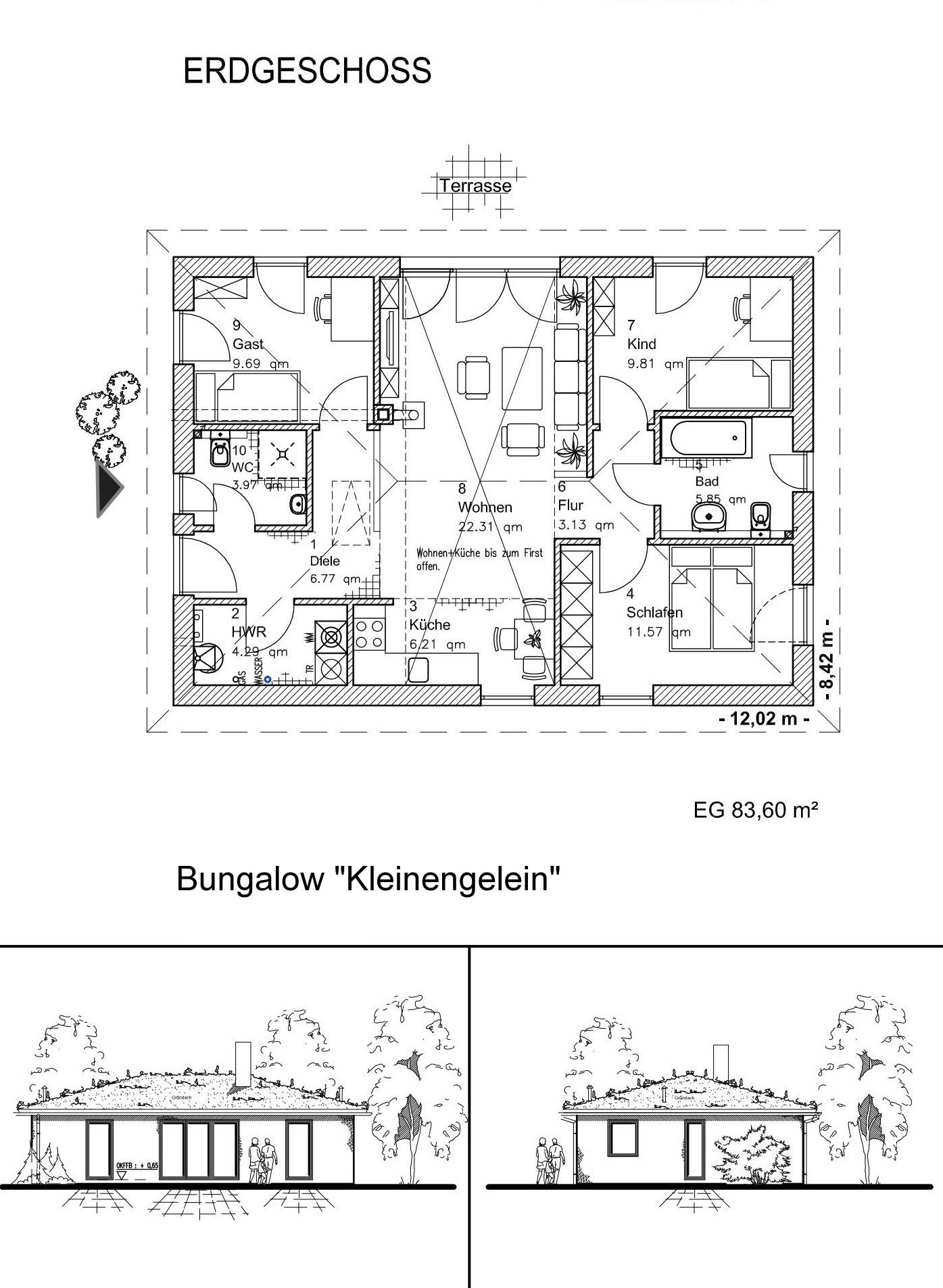 Bungalow KLEINENGELEIN