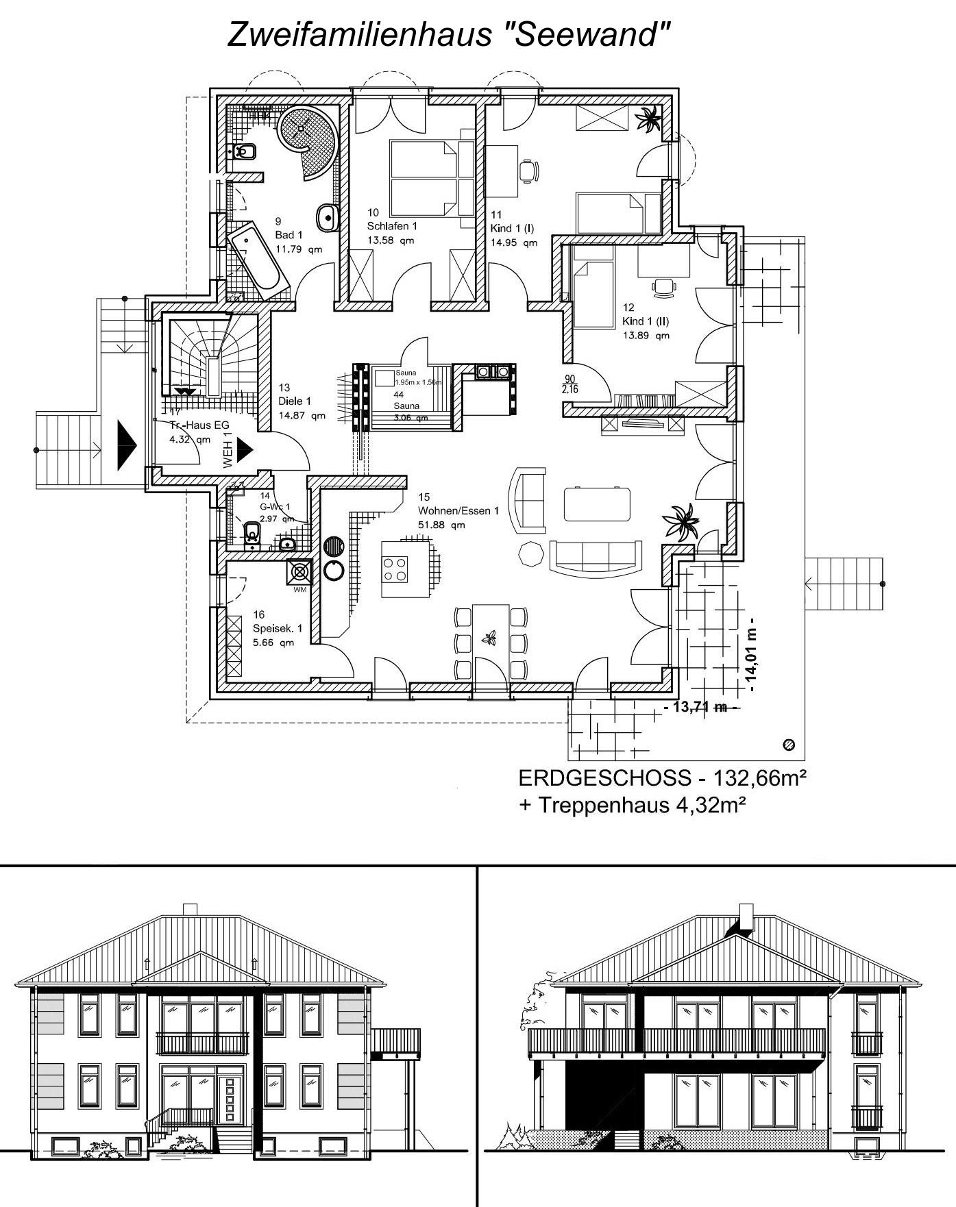 Zweifamilienhaus SEEWAND