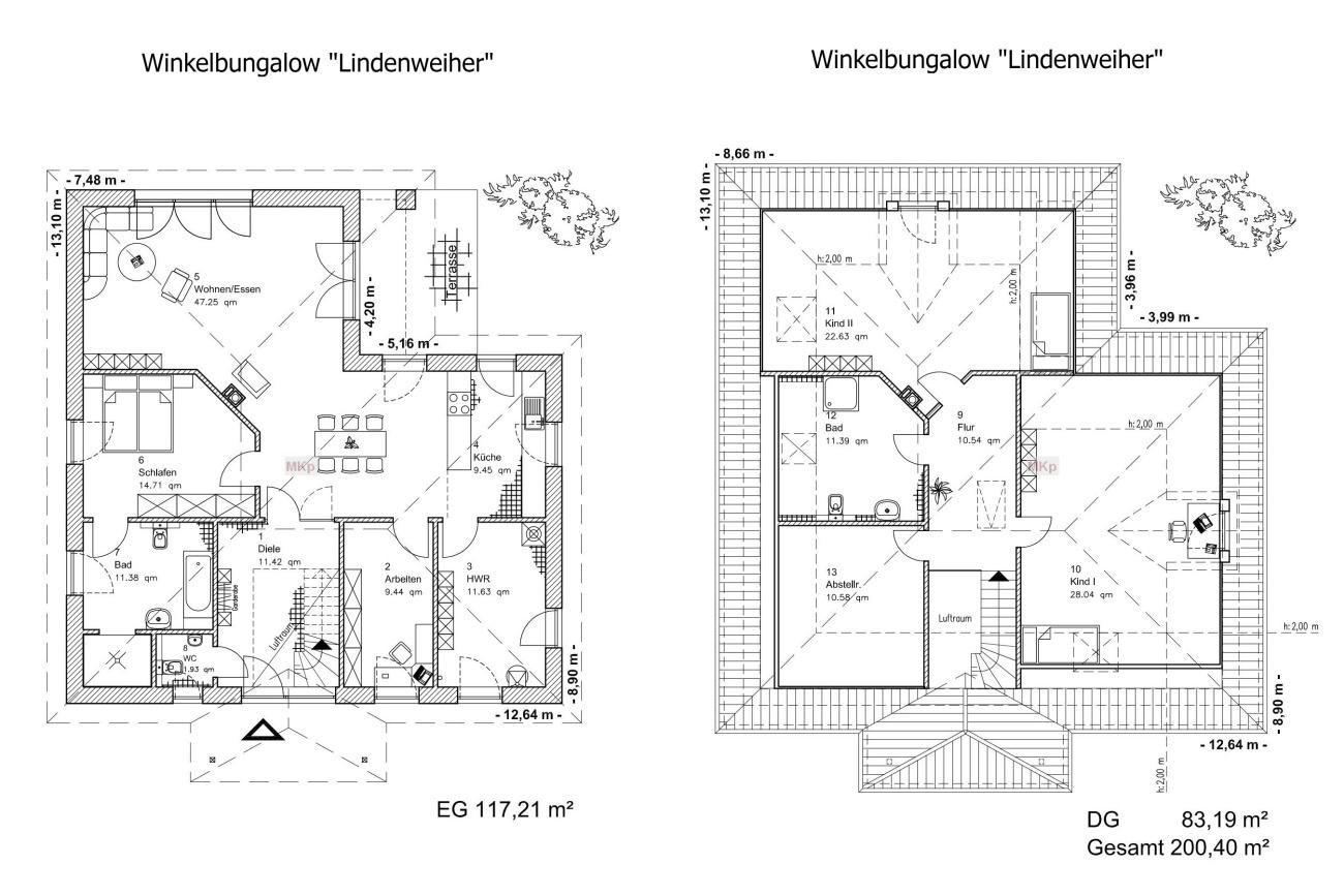 Winkelbungalow LINDENWEIHER