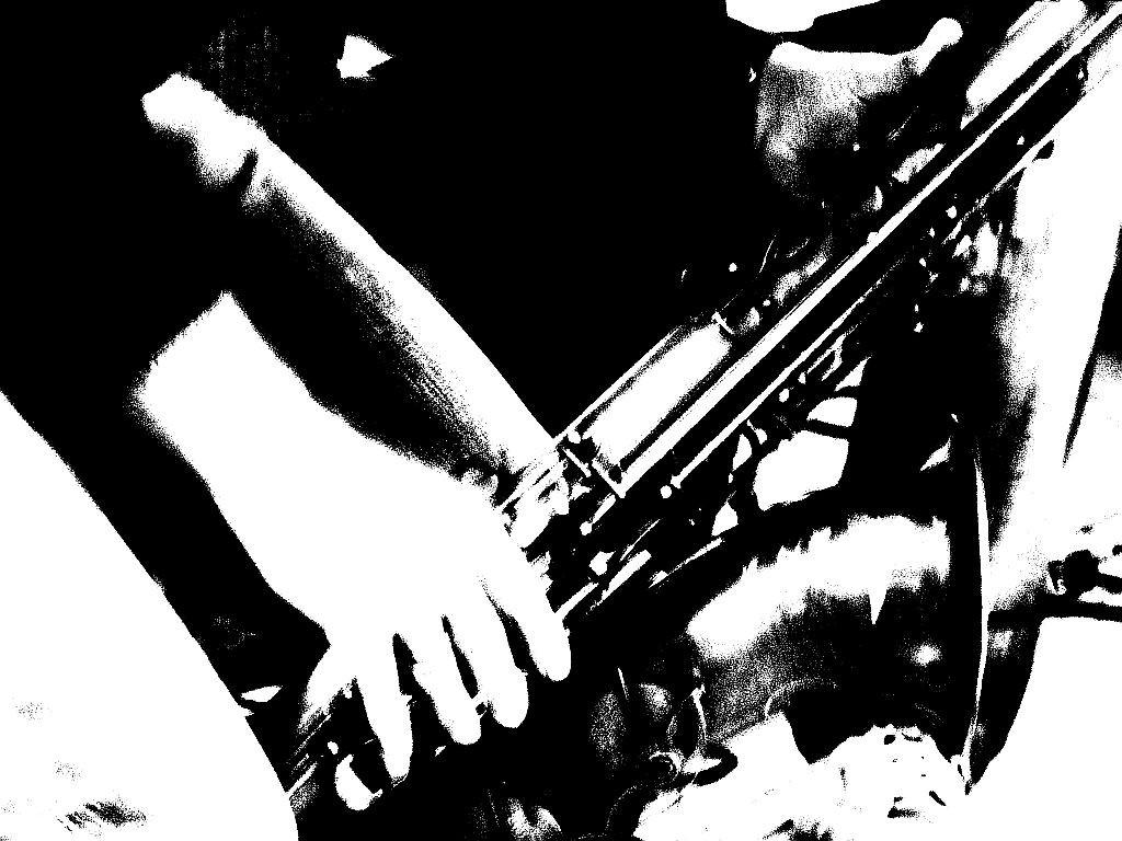 intensives Saxofon