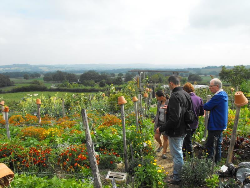 Visitez notre jardin pédagogique et découvrez la permaculture