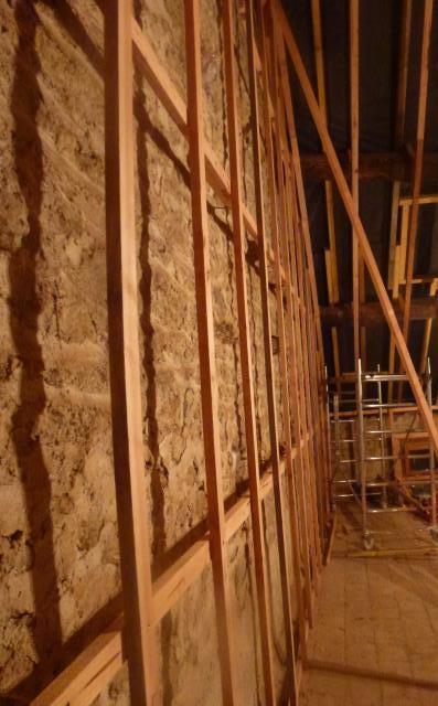 rénovation écologique avec de la ouate de cellulose