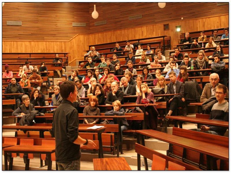 Conférence pour partager la permaculture dans les universités et associations