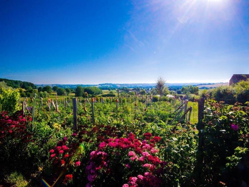 Le jardin mandala en Bourgogne est a 10km d'Autun - 90km de Dijon en Bourgogne Franche Comté